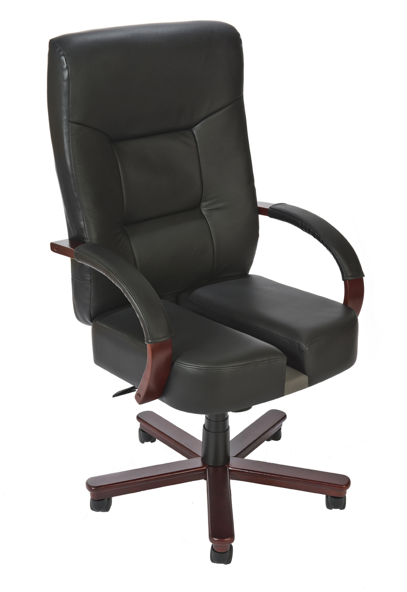 High Back Executive Office ChairComfy Low Back White