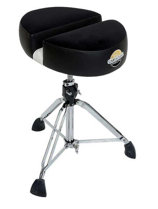 CT200-Double D-Black Cloth (Complete Heavy Duty Spindle Throne)