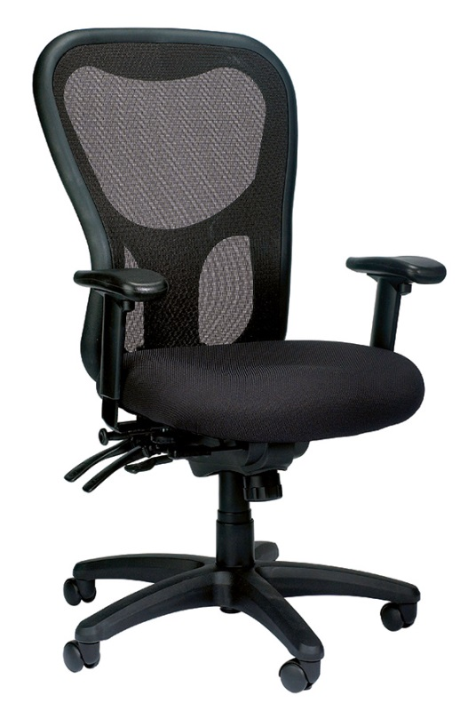 Eurotech MM95SL Apollo High-back Multi-Function W/ Seat Slider