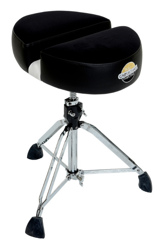 CT200-Double D-Black Cloth (Complete Heavy Duty Spindle Drum Throne)
