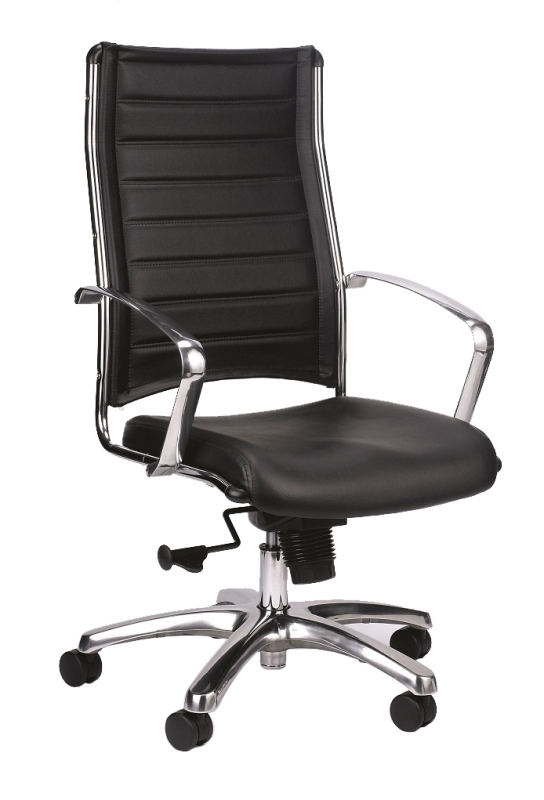 Eurotech Europa LE811 High Back In Black Leather